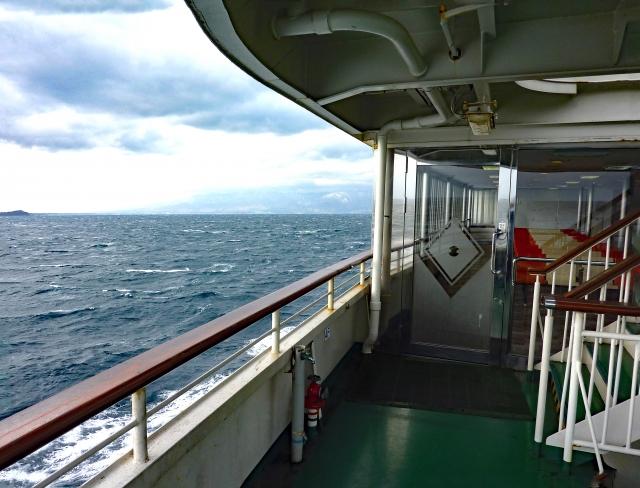 佐渡島へのアクセス方法「佐渡汽船」のフェリー