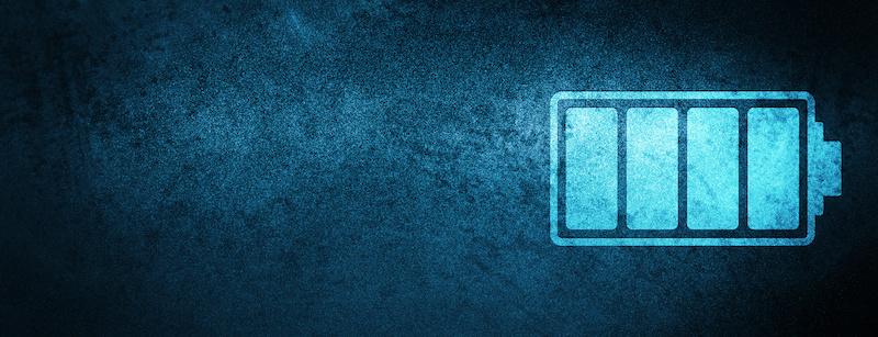Androidスマートフォンのバッテリー残量イメージ