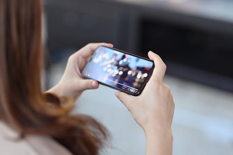 Androidスマートフォンでゲーム