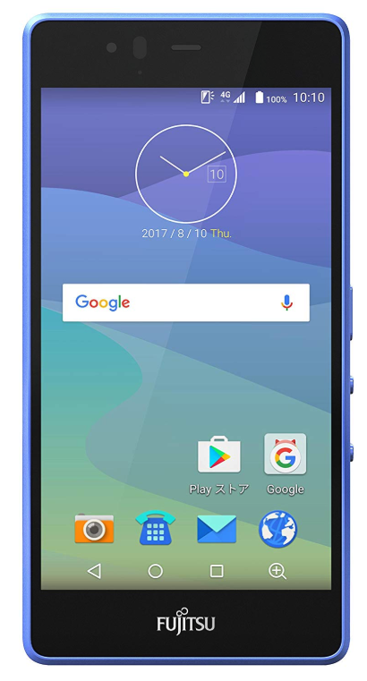 富士通 SIMフリースマートフォン arrows M04