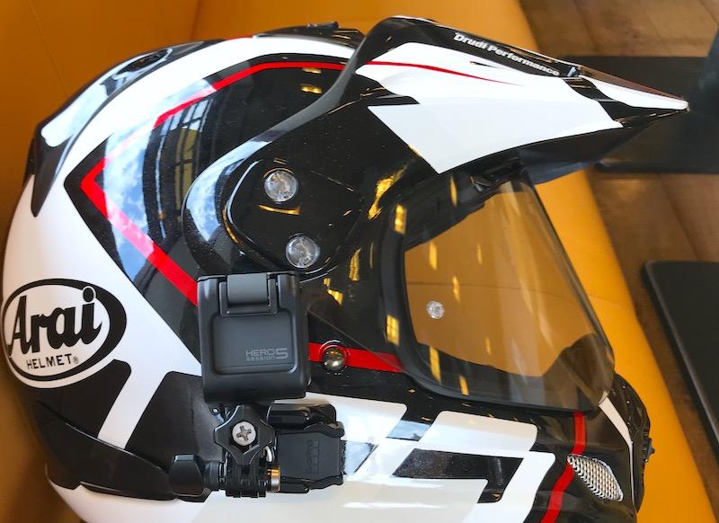 バイク用ガジェット「アクションカメラ GoPro Hero5 session」