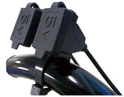 ニューイング(NEWING) バイク用電源 USBステーション ダブル2