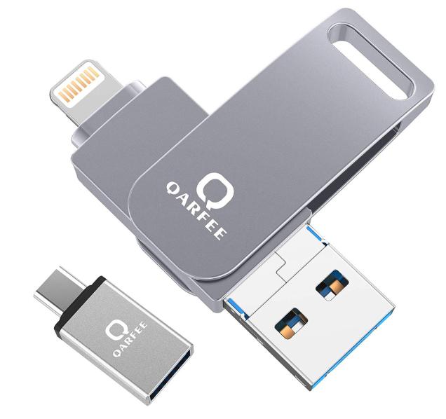 4in1 USBメモリ iPhone フラッシュドライブ アイフォン メモリ