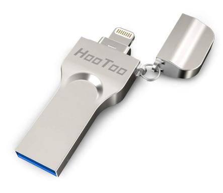 HooToo Apple認証取得 ライトニング USBメモリ