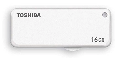 16GB TOSHIBA 東芝 USBメモリー TransMemory USB2.0 スライド式