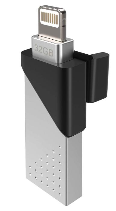 シリコンパワー Lightning & USB3.1(USB3.0)対応メモリ