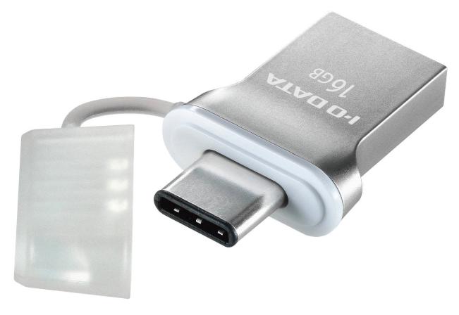 I-O DATA USBメモリー USB3.1 Gen1 Type-C / Type-A