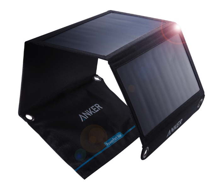 Anker PowerPort Solar (21W 2ポート USB ソーラーチャージャー)【PowerIQ搭載】