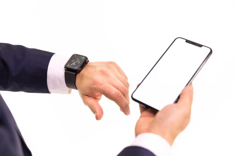 スマートウォッチとスマートフォンの連携