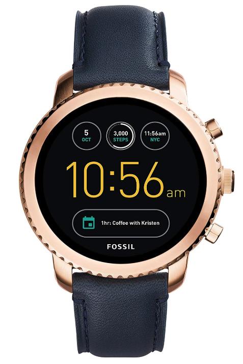 FOSSIL 腕時計 Q EXPLORIST タッチスクリーンスマートウォッチ