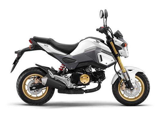 人気のマニュアルミッション付き125ccバイク「HONDA GROM」