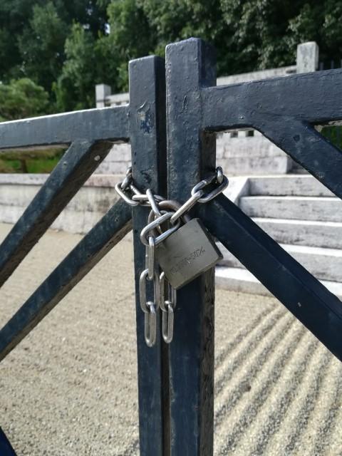 文武天皇陵の鍵