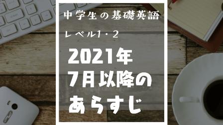 中学生の基礎英語レベル1・2 2021年7月以降のあらすじ