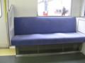 [鉄道写真]東武10000系更新車 車端部座席