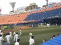 [野球観戦]横浜スタジアム FA席最前部