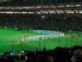 [野球観戦]2010年開幕戦セレモニー