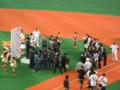 [野球観戦]京セラドーム大阪 ヒーローインタビュー