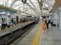 [鉄道写真]日暮里駅、スカイライナー到着