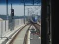[鉄道写真]スカイアクセス線成田湯川駅、スカイライナー待避
