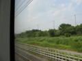 [鉄道写真]スカイライナー、北総線内車窓