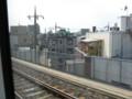 [鉄道写真]スカイライナー、京成本線内車窓