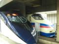 [鉄道写真]スカイライナー、シティライナー並び