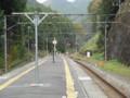 [鉄道写真]西吾野駅ホーム秩父方面