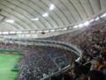 [野球観戦]東京ドームOP戦 1塁側