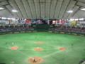 [野球観戦]東京ドームOP戦 センター側