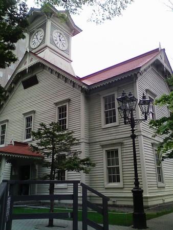 時計台(ななめ)@札幌
