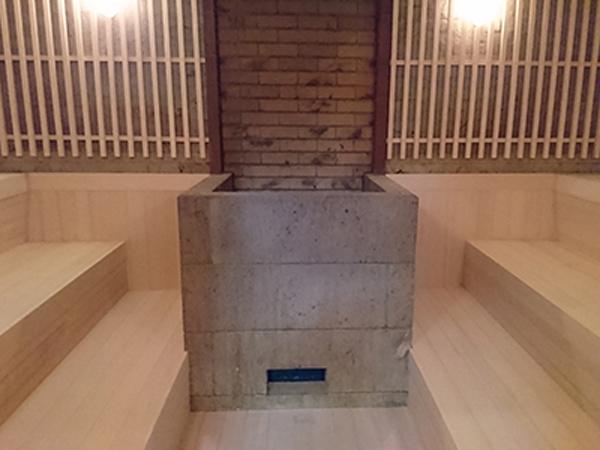 サウナ錦糸町のサウナ室
