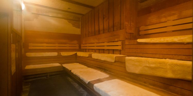 ニューウイングのサウナ室