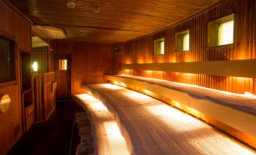 ニュージャパンレディースサウナのサウナ室の画像