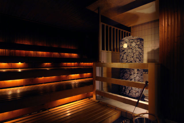 ニュージャパンスパプラザのサウナ室の画像