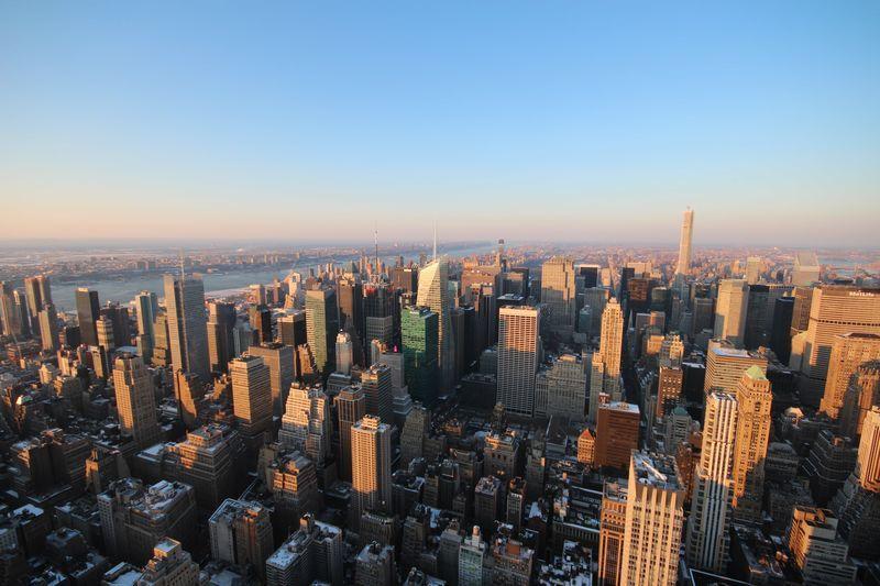 海外の街並み航空写真