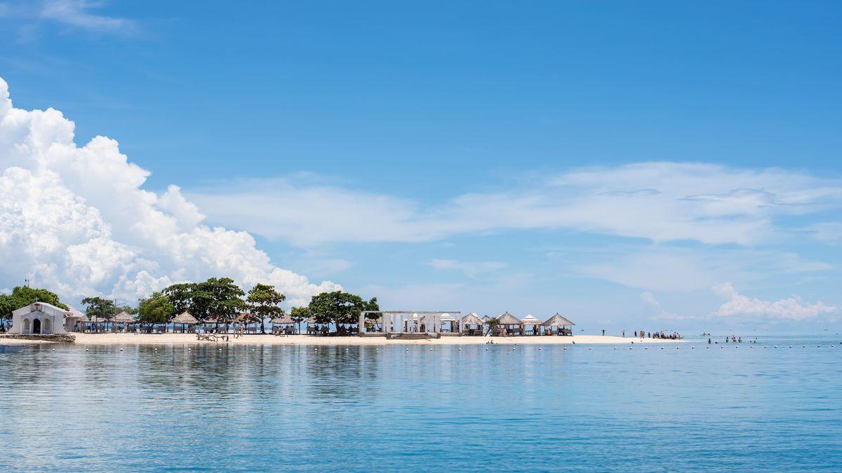 セブの海の写真