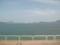 大三島の道の駅から瀬戸内海を望む