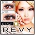 カラコン「レヴィ(REVY)」ブラウン
