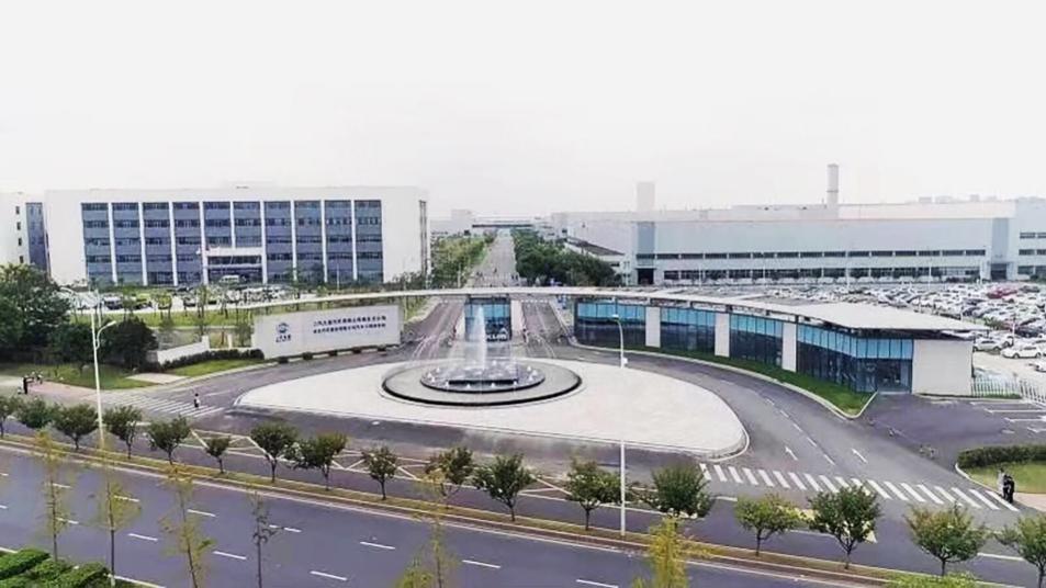 上汽大通のライトハウス南京工場