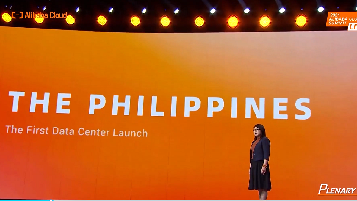 Alibaba Cloud Intelligence International GMのSelina Yuan氏(Alibaba Cloud Summit講演動画より)