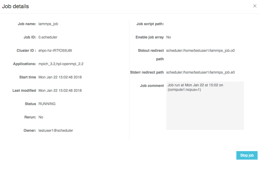 E-HPC クラスターでの LAMMPS の実行
