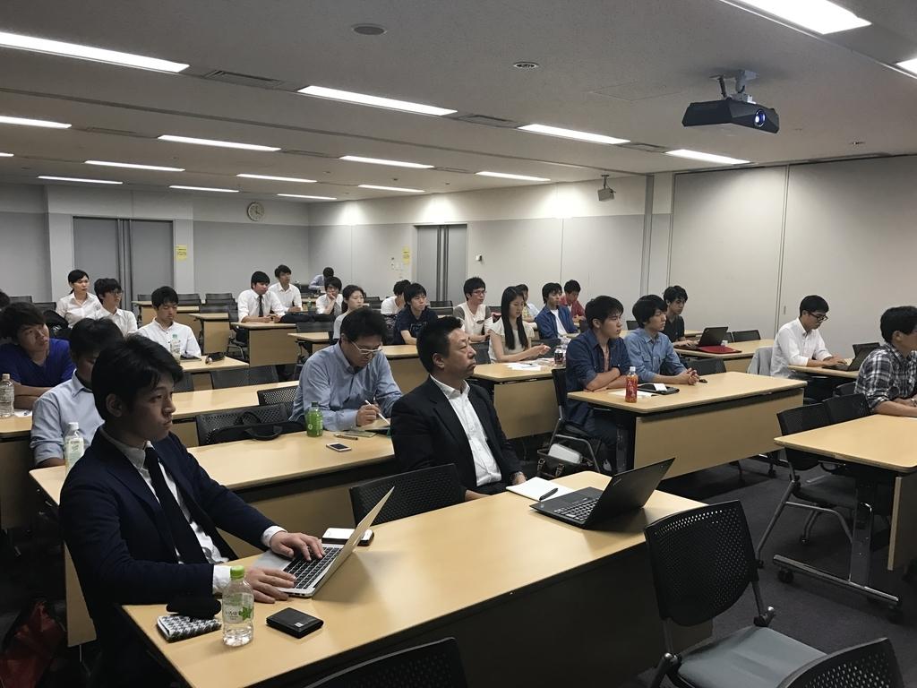 慶応義塾大学でクラウドプラットフォームに関するセミナー