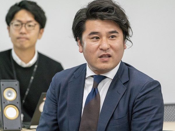 SBクラウド江澤遼太(法人営業部)