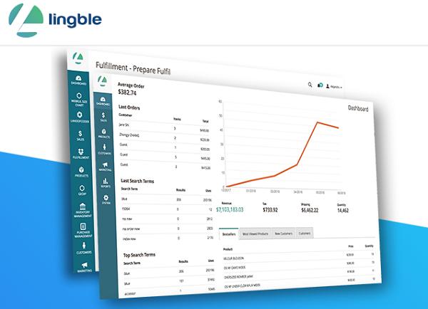 グローバルECプラットフォーム「Lingble」