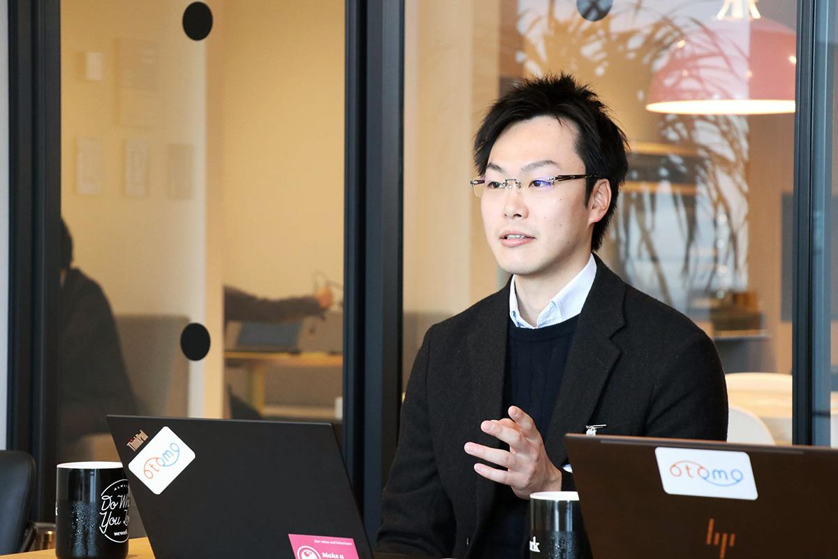 otomo株式会社取締役COO北川朝輝氏
