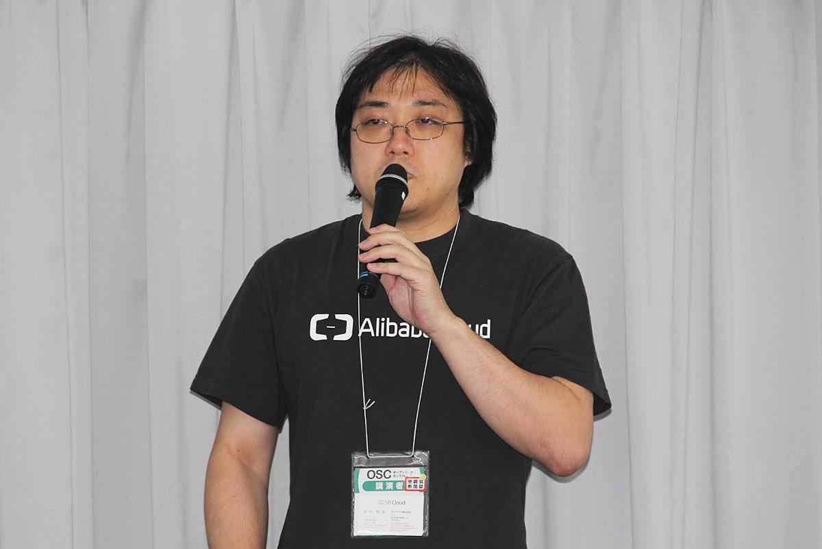SBクラウド ソリューションアーキテクトの松田悦洋