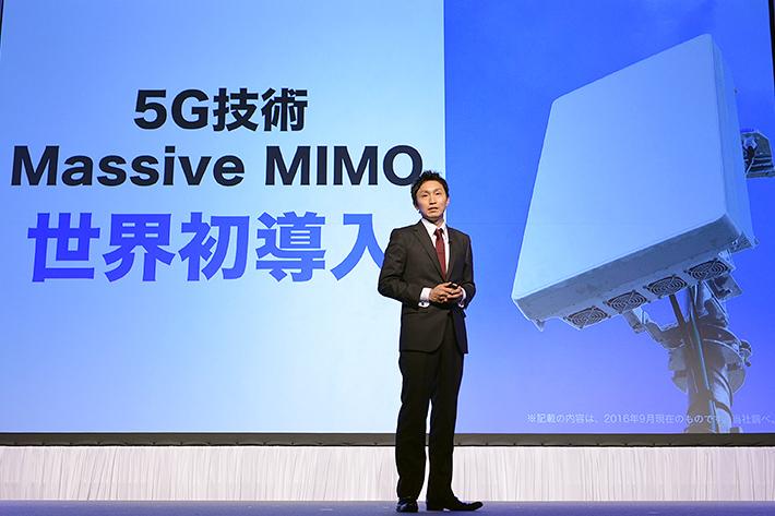 Softbank's Giga Monster Massive MIMO: World's first