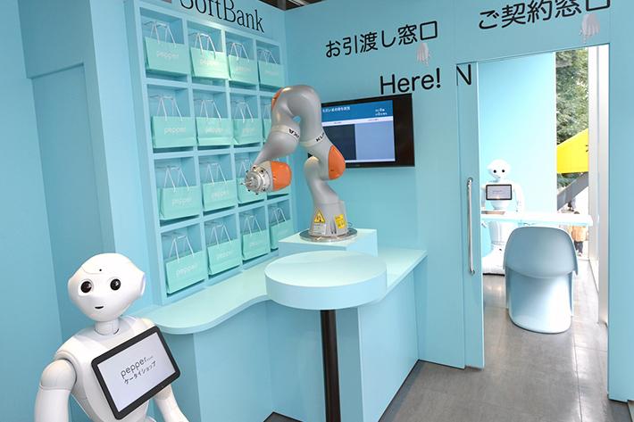 ロボットだけでお店を開いたよ!