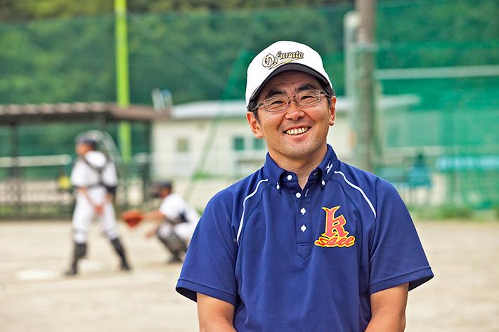 戸羽智英先生(野球部監督)