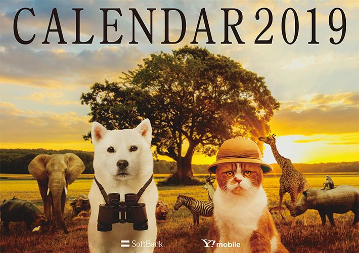 2019年のカレンダー当たる!